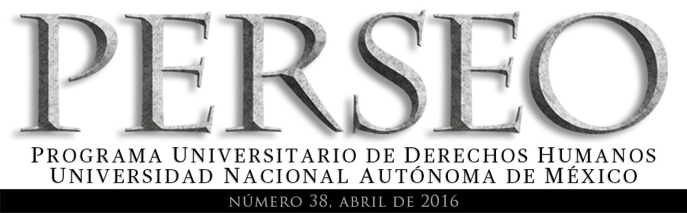 PERSEO 38 Abril 2016